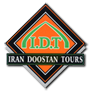 logo for iran doostan travel and tour agency